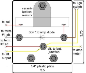 [Photo Wiring Junction Plate]