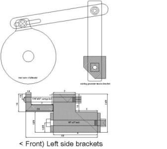 [Photo Alternator Bracket]